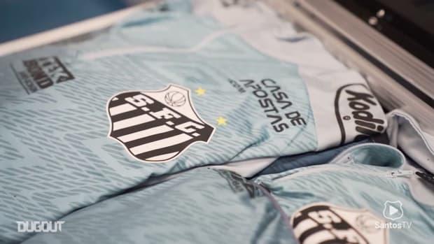Behind the scenes of Santos's draw with Grêmio in Brasileirão