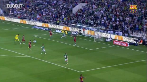 Ivan Rakitic and Luis Suarez strike to seal Barcelona win over Betis