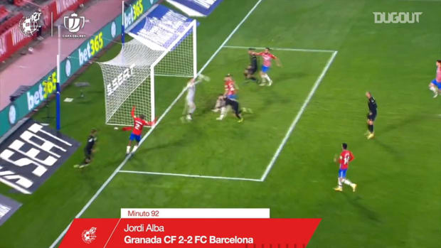 All Barcelona's goals from the 2020/21 Copa Del Rey ahead ...