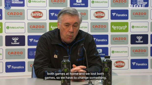 Ancelotti previews Manchester United clash
