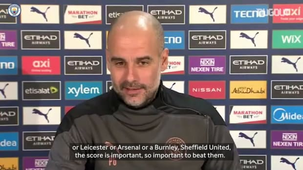 Guardiola: We go to Anfield to try and win