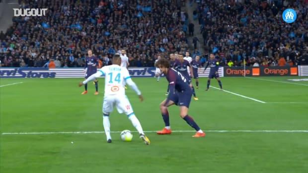 Thauvin's great goal vs Paris at Marseille