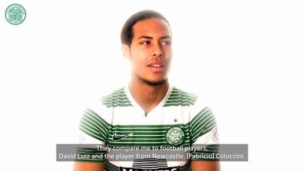 Van Dijk on his favourite moment for Celtic and his football lookalike