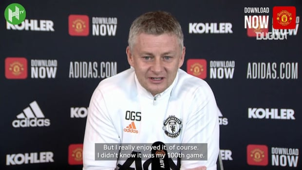 Solskjaer reacts to his first 99 games in Premier League management