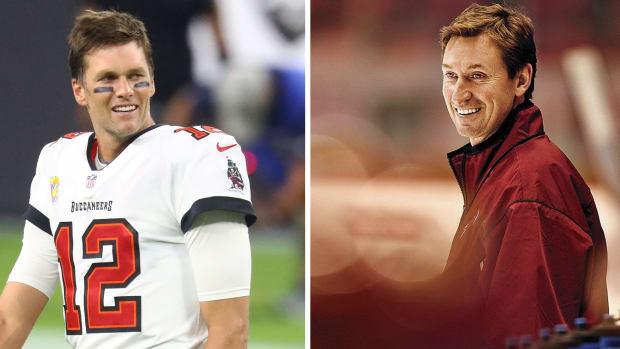 Tom Brady and Wayne Gretzky
