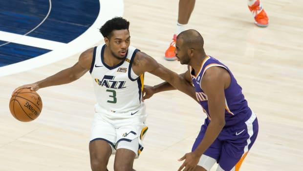 Trent Forrest Utah Jazz