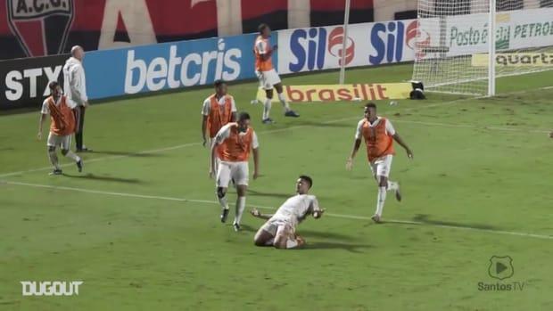 Santos draw against Atlético-GO at Goiânia