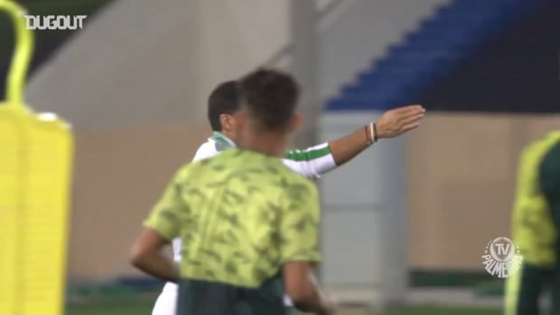 Palmeiras last training session before Tigres clash