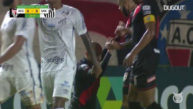 Highlights Brasileirão: Atlético-GO 1-1 Santos