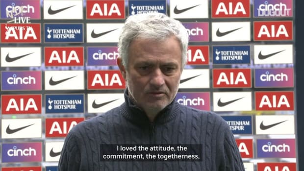 Mourinho; 'I loved the players attitude'