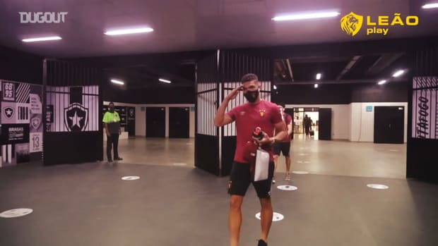 Behind the scenes of Sport Recife's away victory over Botafogo