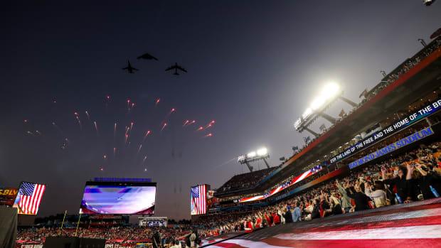 Super Bowl LV Flyover