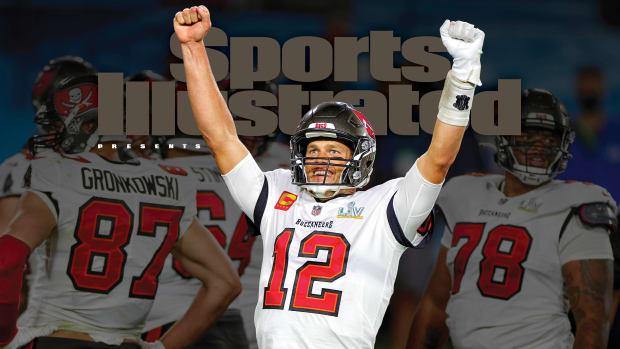 Sports Illustrated cover Tom Brady Bucs Super Bowl LV champions
