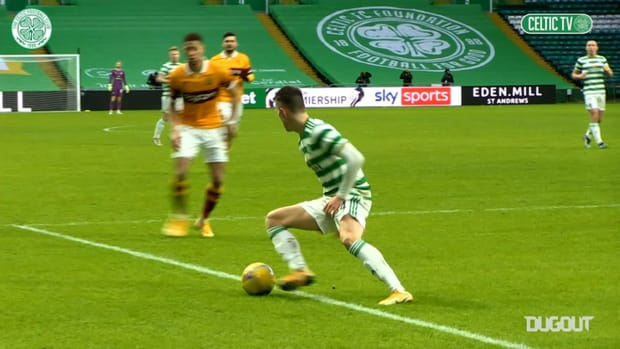 Pitchside view: Welsh scores first Celtic goal in win over Motherwell
