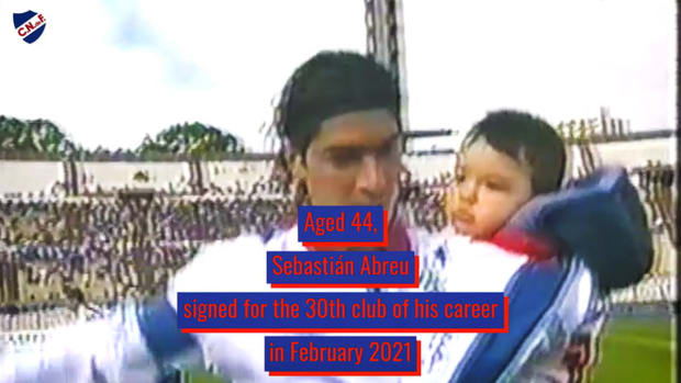 Sebastián Abreu's long-running career