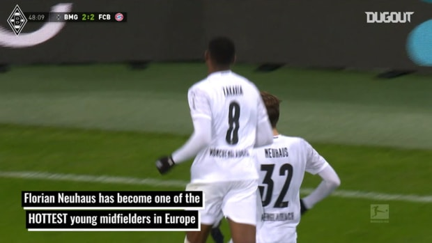 Florian Neuhaus - Mönchengladbach's midfield ace