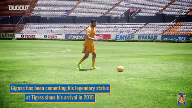 Gignac's legendary status at Tigres