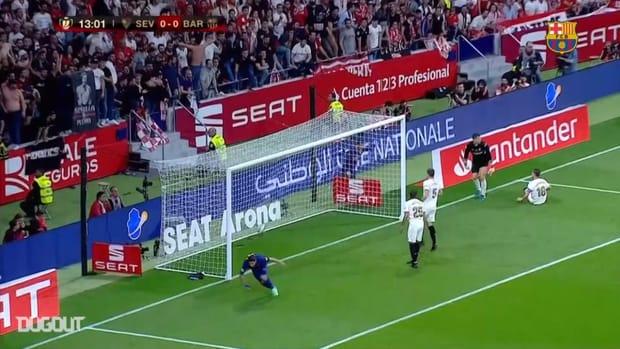 FC Barcelona's top five goals against Sevilla in Copa del Rey