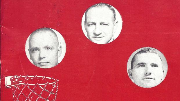 Alabama basketball 1960-61 media guide cover