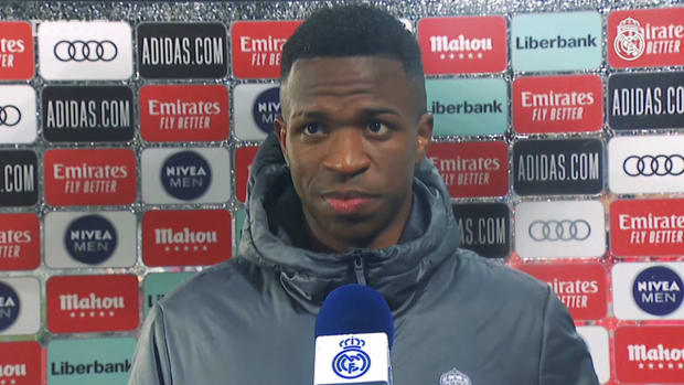 Vinicius Jr.: 'We have to keep picking up points to win LaLiga again'