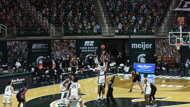 Penn State Michigan State hoops