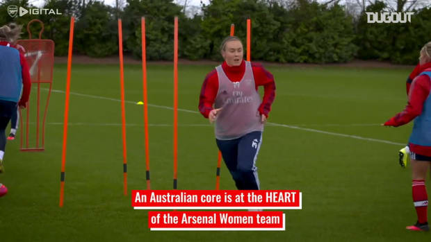 Arsenal Women's Australian connection