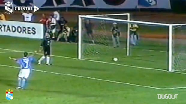 Sérgio Júnior's bicycle kick goal vs Coritiba in the 2004 Libertadores
