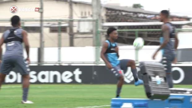 Vasco's training session in Fortaleza