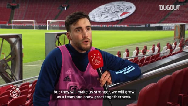 Nico Tagliafico on Ajax's reaction to Haller's omission and Onana's ban