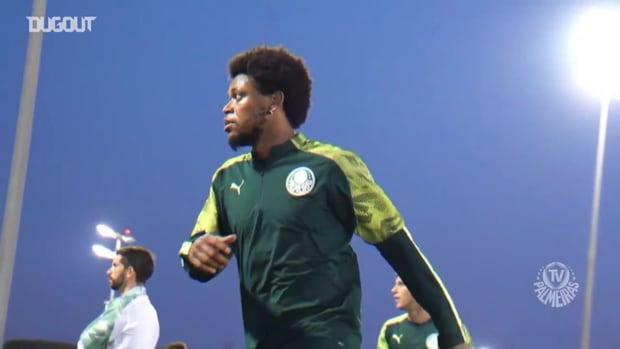 Palmeiras last training session before Al-Ahly clash