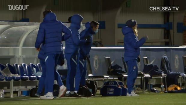 Pernille Harder's emphatic strike vs Arsenal