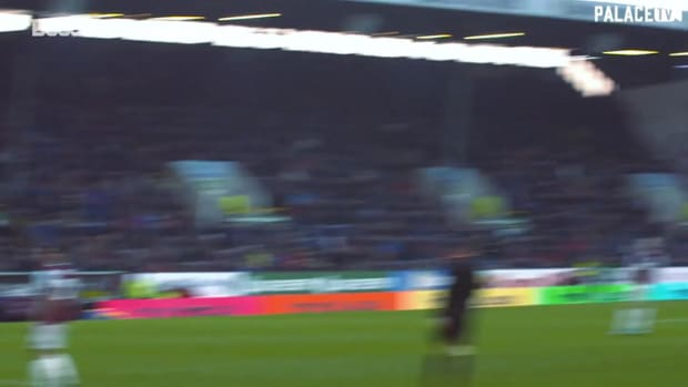 Crystal Palace's classic goals against Burnley
