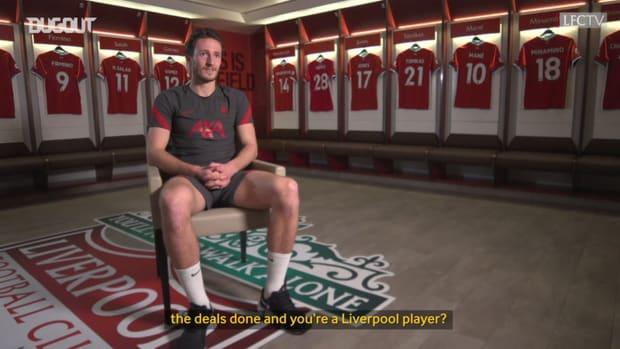 Ben Davies first Liverpool interview