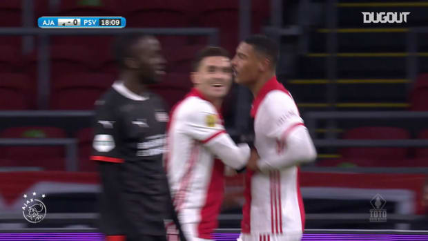 Haller's brace sends Ajax to KNVB Cup semi-final