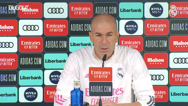 Zinedine Zidane: 'We want to continue to grow as a team'