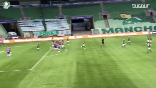 Palmeiras wins Fortaleza at Allianz Parque