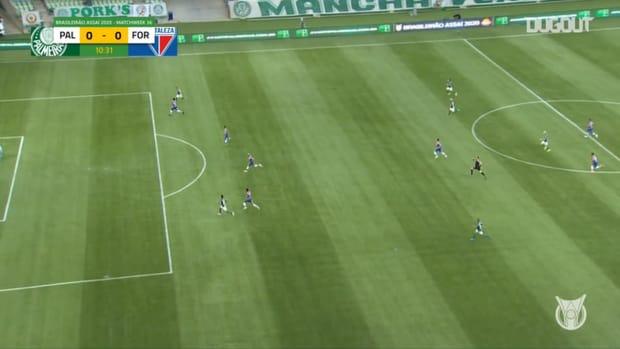 Highlights Brasileirão: Palmeiras 3-0 Fortaleza