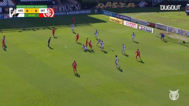 Highlights Brasileirão: Vasco 0-2 Internacional