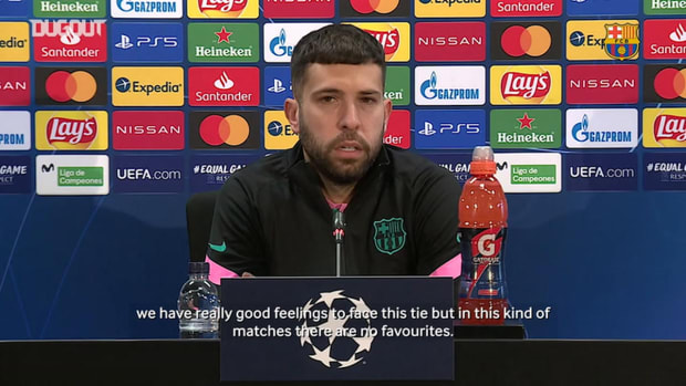 Jordi Alba: 'The idea is to put Barça as high up as possible'