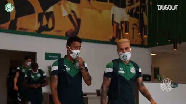 Behind the scenes of Palmeiras' win over Fortaleza