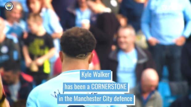 Kyle Walker: Manchester City's defensive lynchpin
