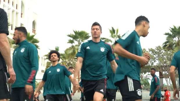 Behind the scenes from FC Bayern's Club World Cup journey in Qatar