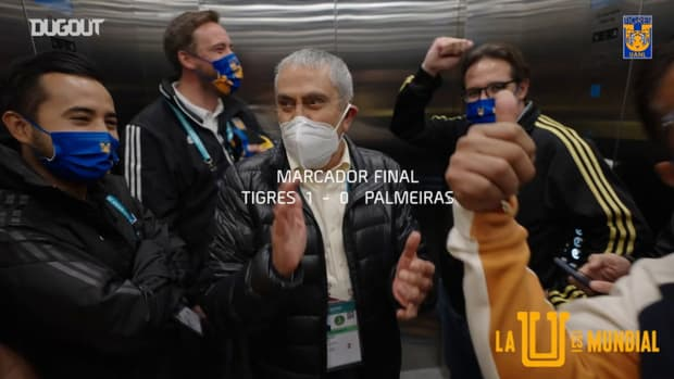 Behind the scenes: Tigres's celebrations after historic FIFA Club World Cup semi-final victory