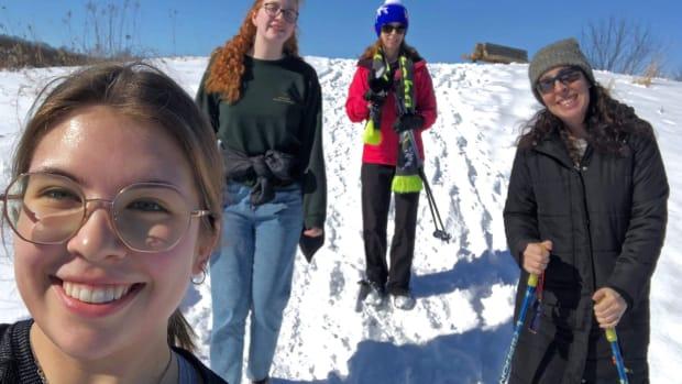Team Nunavut outdoors