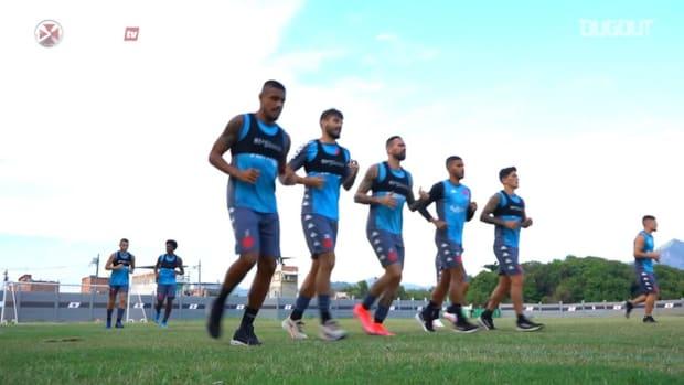 Vasco keep training ahead of Corinthians clash in Sao Paulo