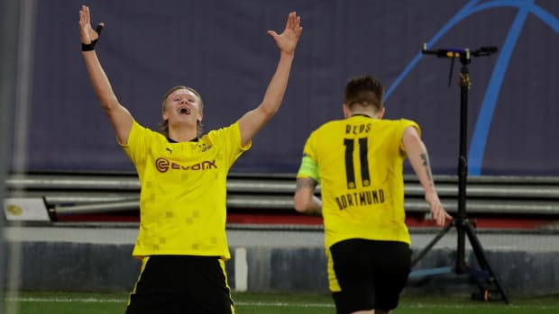 Borussia Dortmund and Erling Haaland beat Sevilla in Champions League