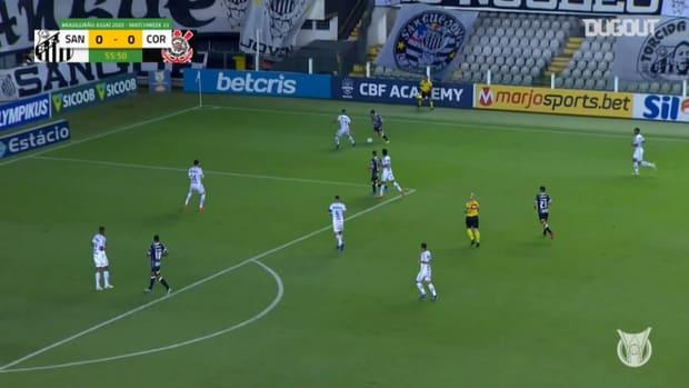 Highlights Brasileirão: Santos 1-0 Corinthians