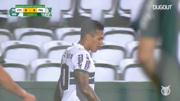 Highlights Brasileirão: Coritiba 1-0 Palmeiras