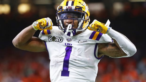 LSU receiver Ja'Marr Chase