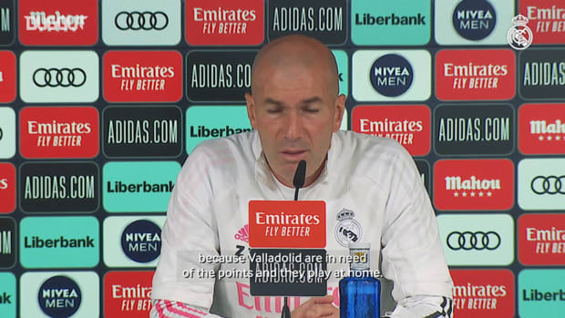 Zinedine Zidane: 'It would be a mistake to think about the Champions League game already'